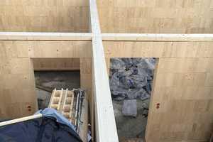 """. Die Wände werden mit passenden Einbindern """"gedeckelt"""""""