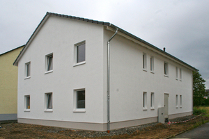 Im fertigen Zustand: Das Haus dient dem sozialen Wohnungsbau in Paderborn