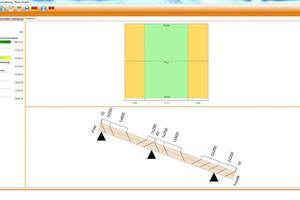 Der Nutzer erhält als Ergebnis die Angaben zum Materialverbrauch und eine Montageanleitung