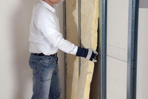 Durch den Einbau neuer Zwischenwände mit Dämmschicht lassen sich Räume neu unterteilen