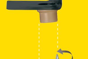 """Rechts: Die flexible """"SitaMore"""" Dampfsperrplatte passt sich der Attika an und ermöglicht einen wärmegedämmten Aufbau<span class=""""bildnachweis"""">Fotos: Sita</span>"""