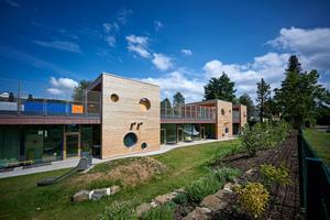 Der Neubau der Kindertagesstätte im Neuwieder Stadtteil Heimbach-Weis gilt als bundesweit einmaliges PilotprojektFoto: Sika