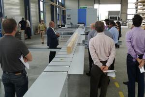 Die Weinmann Holzbausystemtechnik deckt mit ihren CNC-Maschinen den gesamten Holzbaubereich ab