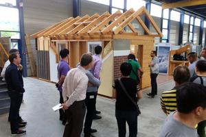 Besuch bei der Weinmann Holzbausystemtechnik GmbH in St. Johann