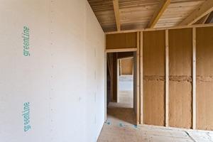 """Gipsfaserplatten lassen sich auf Unterkonstruktionen aus Holz oder Stahl verlegen<span class=""""bildnachweis"""">Fotos: Fermacell</span>"""