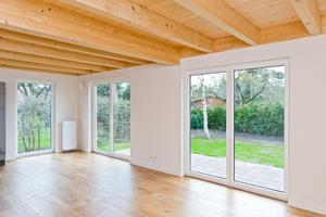 Durch den Rückbau alter und den Einbau neuer Wände können große, offene Räume entstehen