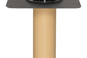Der Sanierungsgully ist mit einer Wunschanschlussmanschette erhältlich