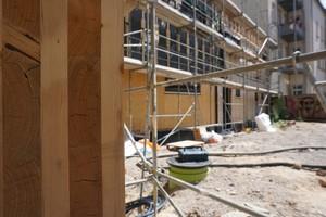 "Die Brettsperrholz-Außenwände des Hauses sind 24 cm dick<span class=""bildnachweis"">Fotos: Stephan Thomas</span>"