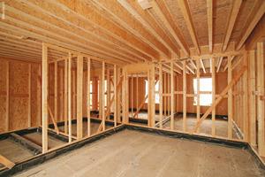 OSB-Platten eignen sich für den Holzrahmenbau und Holzständerbau<br />