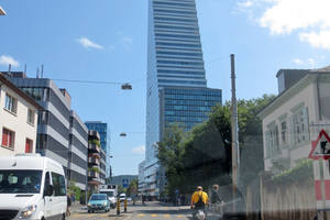 Der Firmensitz des Schweizer Pharmakonzerns ist das derzeit höchste Gebäude des Landes