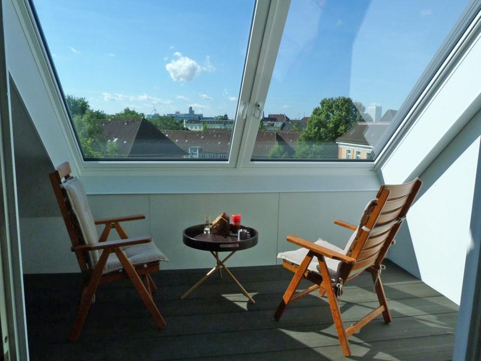 Loggia Mit Ausblick Und Regenschutz Dach Holzbau