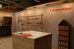 Stand in der Ausstellung im Zentrum Holz, Olsberg<br />