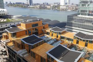 Das Pakhuis Meesteren liegt am Hafen, in unmittelbarer Nähe zum Stadtzentrum und im neuen Rotterdamer Stadtteil Kop von Zuid Fotos: Carlisle