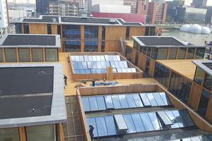 Auf dem Dach entsteht durch die Aufstockung eine Atriumsituation Foto: Carlisle