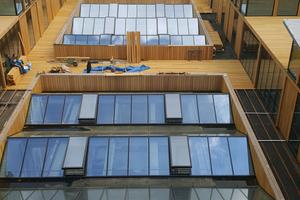 Das zukünftige Hotel hat auf dem Dach zusätzliche, kleine Appartements