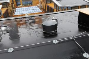 Dichtes Dach trotz zahlreicher Durchdringungen Foto: Carlisle