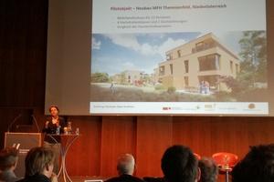 Analysiert Gebäude im Bodenseeraum hinsichtlich der Energieeffizienz und der möglichen Energieinsparung: Sabine Erber vom Energieinstitut Vorarlberg Foto: Rüdiger Sinn<br /><br />