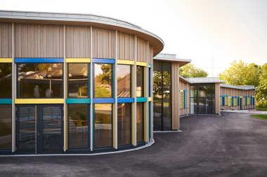 Grundschule Tamm Hohenstange Fassade
