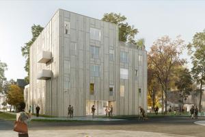 Das Stiftungsdorf Ellener Hof – hier eine Visualisierung – ist ein sozialökologisches Modellquartier im Bremer Osten⇥