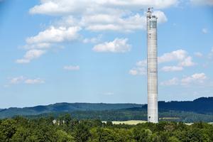 Im baden-württembergischen Rottweil entstand ein Testturm, in dem seit Dezember 2016 neue Aufzüge erprobt und zertifiziert werden