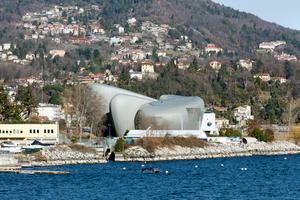 Das neue Kulturzentrum von Verbania liegt direkt am Ufer des Lago Maggiore