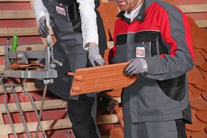 """Innungsbetriebe des Dachdeckerhandwerks können die """"Dachdeckerkleidung"""" von CWS-Boco exklusiv mieten<span class=""""bildnachweis"""">Foto: Boco</span>"""