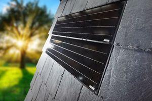 Mit Solarmodulen lässt sich das Rathscheck Schiefer System ergänzen und so die Kraft der Sonne nutzen