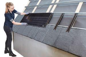 Rathscheck Schiefer System: Solarmodul verlegen