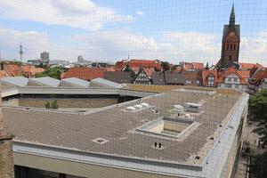 Das Dach des Museums nach der Sanierung: Die Dachbegrünung ist noch nicht in allen Bereichen gewachsen Fotos (2): Lutz Böhland