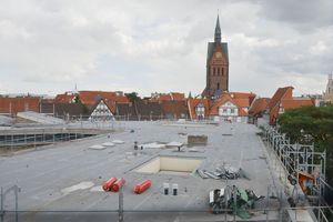 Dacharbeiten bei der Sanierung des Historischen Museums in Hannover<br />