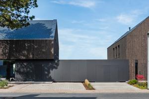 Zwei Einfamilienhäuser in Vechta belegten ebenfalls den zweiten Platz beim Holzbaupreis Niedersachsen. Die Niedrigenergiehäuser wurden als Holzrahmenbauten mit Zellulosedämmung umgesetzt