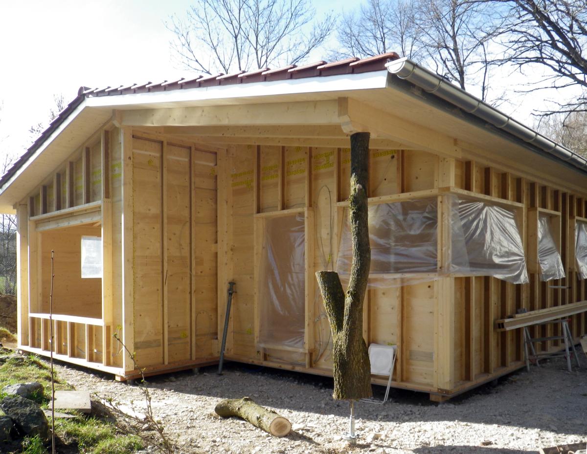 Ein Haus Auf 30 Stutzen Dach Holzbau