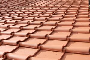 Das Dach der Neuen Remise ist eingedeckt mit Krempziegeln von Jacobi, die zu den historischen Dachflächen von Schloss Bedheim passen<br />