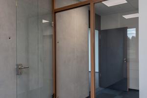 """Innenansicht des fertigen Gebäudes auf dem """"Illa7""""-CampusFoto (2): Fischer & Gibbesch Architekten GbR chitekten GbR"""