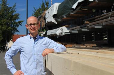Stephan Thomas, verantwortlicher Redakteur dach+holzbau