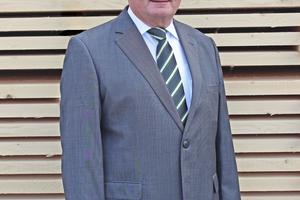 Jürgen Schaffitzel ist Geschäftsführer und geschäftsführender Gesellschafter der Schaffitzel Holzindustrie⇥Fotos: Schaffitzel