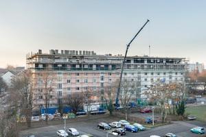 Aufstockung eines Mehrfamilienhauses in der Blasewitzer Straße in Dresden