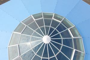 Die Rotunde auf dem Dach des Marienbads mit Lichtkuppel Foto: Meetingpoint Bradenburg/vor-ort-foto.de