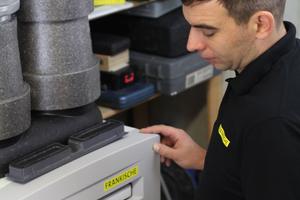 Der regelmäßige Austausch der Filter der Lüftungsanlage ist aus hygienischen Gründen unerlässlich und schnell erledigt