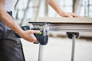 """Bei Holzarbeiten werden entweder HCS-Sägeblätter oder bei Harthölzern Hartmetall (HM)-Sägeblätter verwendet <span class=""""bildnachweis"""">Fotos: Festool</span>"""