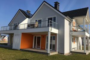 """Das """"Ostseeresort Olpenitz"""" umfasst unterschiedliche Ferienhäuser mit insgesamt 2500 Betten <span class=""""bildnachweis""""></span>"""