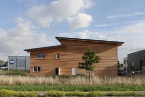 Der neue Firmensitz der Treibholz GmbH in Korschenbroich in Holzbauweise wurde 2018 fertiggestellt