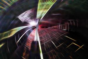 """<span class=""""bildnachweis""""><strong>Innenansicht des Rotorblattes einer Windkraftanlage: Forscher haben Wege gefunden, aus dem Balsaholz von Rotorblättern neue Produkte herzustellen </strong></span><span class=""""bildnachweis"""">Quelle: Fraunhofer WKI / Peter Meinlschmidt</span>"""