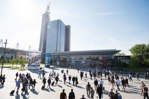 """Vom 27.-31. Mai findet die Messe Ligna in Hannover statt<span class=""""bildnachweis"""">Foto: Deutsche Messe AG</span>"""