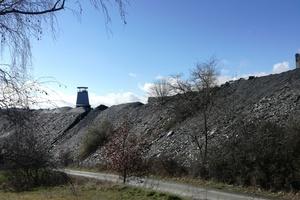 Die Schieferförderung am Standort Mayen - hier der Katzenbergstollen - wurde Ende März eingestellt, jetzt kommt der Moselschiefer aus Spanien⇥Foto: Rüdiger Sinn