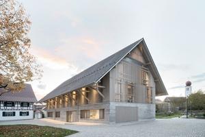 """In der Kategorie """"Bauen im Bestand"""" wurde der Umbau eines alten Stadels zu einem Büchereigebäude im Zentrum von Kressbronn am Bodensee ausgezeichnet"""