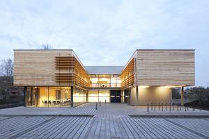 Ein weiterer Preis ging an das Thüringer Forstamt Jena-Holzland in Stadtroda von Cornelsen und Seelinger Architekten aus Darmstadt