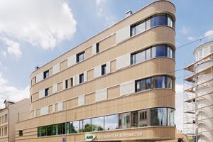 Das fünfgeschossige Wohnhaus Z8 in Leipzig hat eine Anerkennung beim Deutschen Holzbaupreis 2019 im Bereich Neubau bekommen. Gebaut ist das Haus in Massivholzbauweise