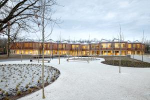 Die neu gebaute Akademie für Internationale Zusammenarbeit in Bonn erhielt ebenfalls eine Anerkennung des Deutschen Holzbaupreises 2019