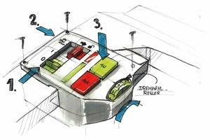 """Die neue """"SawStop""""-Technologie schützt vor schweren Schnittverletzungen bei der Arbeit mit Festool-Tischkreissägen<br />"""